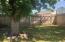 Double entry into backyard