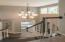 Beautiful foyer and wood staircase
