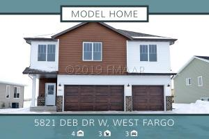 5821 DEB Drive W, West Fargo, ND 58078