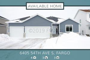 6405 54TH Avenue S, Fargo, ND 58104