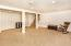 Spacious, light and bright with lots of recessed lighting!