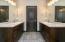 Basement Bath Dual Vanity