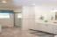 Large-sized main floor bathroom/laundry room.