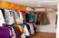 Oversized walk-in closet is large enough to store your wardrobe and serve as your dressing room... and more!
