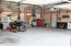 30'x32' insulated Foltz building is perfect for storing all your toys, your extra vehicles, or your hobbies!