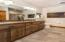 Double Sinks, Linen Closet & Solid surface tops