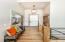 11' Ceilings, Custom Railing, Front coat closet & Office