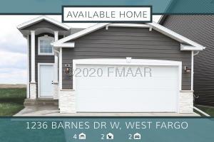 1236 BARNES Drive W, West Fargo, ND 58078