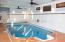 Beautiful indoor pool allows you to enjoy the water year round!