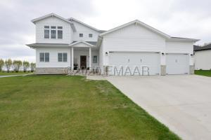Minutes to Fargo/Moorhead. This home is located close to a new elementary school as well as the golf course!