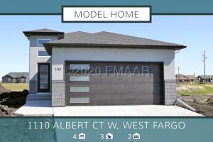 1110 ALBERT Court W, West Fargo, ND 58078