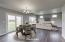 Virtually Staged Dining/Living