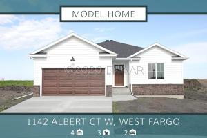 1142 ALBERT Court W, West Fargo, ND 58078