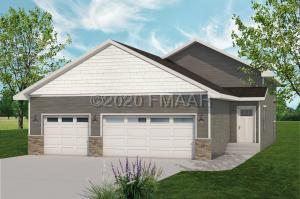 4 bedroom 2 bath 3 stall garage. Rendering is not exact representation of front elevation.