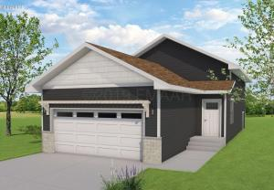 3 bedroom 3 bath. Rendering may not be the exact representation of front elevation.
