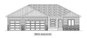 Elevation of similar home