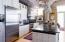 Viking Refrigerator & Granite Countertops