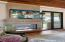 Dual indoor/outdoor Gas Fireplace
