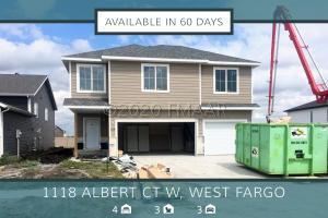 1118 ALBERT Court W, West Fargo, ND 58078
