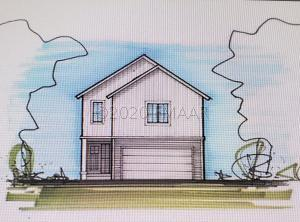Rendering is not exact representation of front elevation.