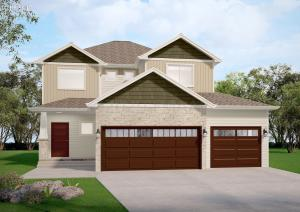 Welcome home to 1326 Commander Drive W. Rendering of Model.