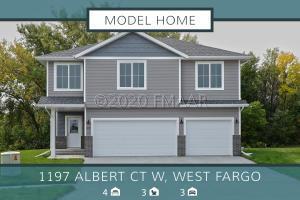 1197 ALBERT Court W, West Fargo, ND 58078
