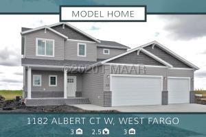1182 ALBERT Court W, West Fargo, ND 58078
