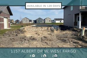 1157 ALBERT Court W, West Fargo, ND 58078
