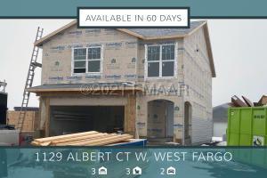 1129 ALBERT Court W, West Fargo, ND 58078