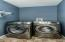 walk in laundry room- spacious