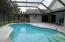 Screened in pool/patio