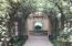 Palestra arbor leading to amenities