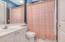 Downstairs guest bathroom & cabana bathroom!