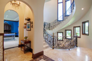 Formal stair hall