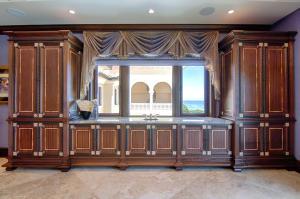 Master suite built-in