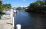 WIDE CANAL JUST OFF INTERCOASTAL.