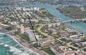 300 Beach Road Unit: 307, Tequesta, FL 33469