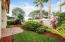 Cozy and Private Fenced Backyard with Avocado Tree, and extended paved patio. Great view of Honda Classic Fireworks from this yard!