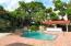 East Boca Courtyard Pool Home with Waterfall & Gazebo