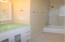 Upgraded bathroom with New Vanity & fixtures