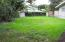 East side Yard with privacy fence & Shed