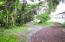 Back yard with mulch path and lots of landscaping for privacy!