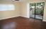 Master Bedroom in the Back of house with Private/Fenced Wood Deck!