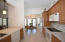 Kitchen is very spacious and designed perfect for a grand open feel.