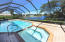 Lots of room for entertaining in every month of the year. This pool is heated so it will be used!