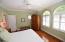 Lots of windows, beautiful plantations, beautiful maple floors and custom stain glass.