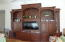 Custom Built Wall Unit in the Great Room