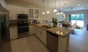 Open Concept Kitchen Flows into Open Concept Living Areas