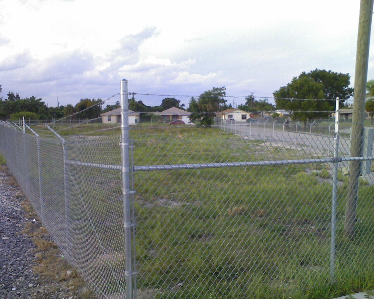 2nd Photo_Fence from SW