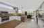 Gourmet Kitchen with View to Den/Family Room